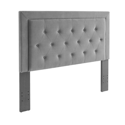 Birute Upholstered Panel Headboard Size: Full/Queen