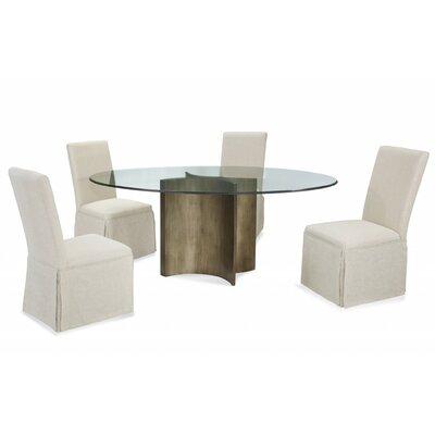 Eleta 5 Piece Pedestal Base Dining Set