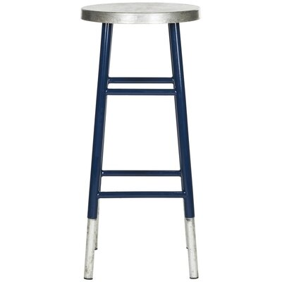 Torquay Bar Stool Finish: Navy