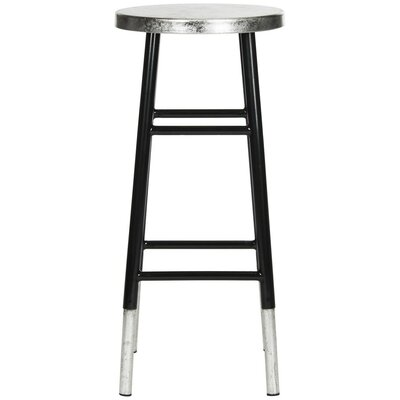Torquay Bar Stool Finish: Black/Silver