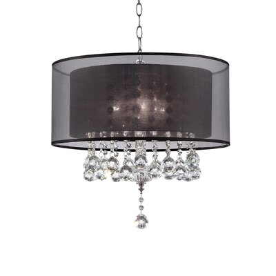 Rienne 3-Light Crystal Pendant