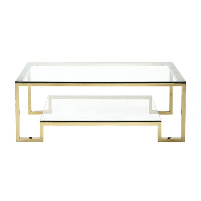 Ellesmere Coffee Table Finish: High Polish Gold