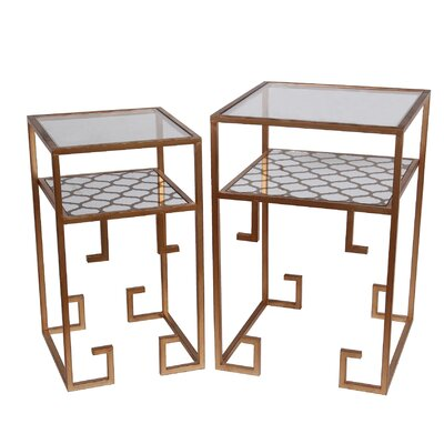 Gryselda 2 Piece End Table Set