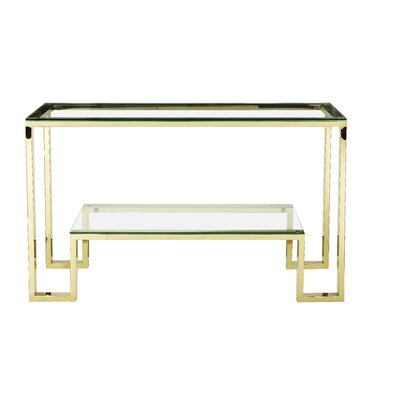 Ellesmere Console Table Finish: Gold