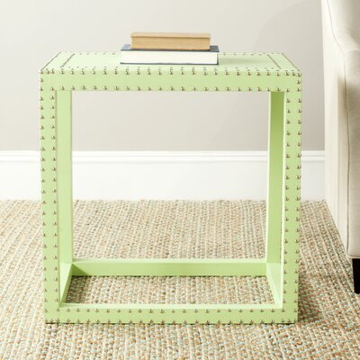 Nicollette End Table Finish: Light Green