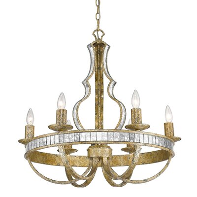 Shibata 6-Light Candle-Style Chandelier