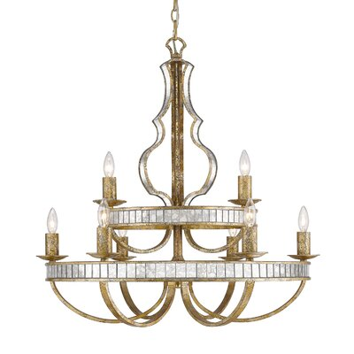 Shibata 9-Light Candle-Style Chandelier