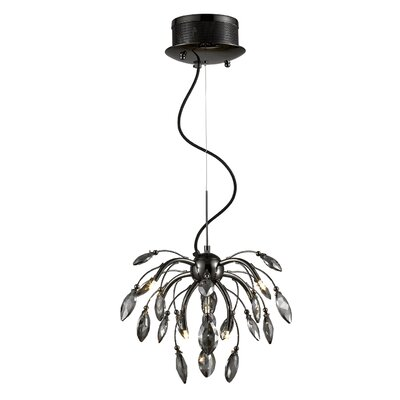 Rothwell 9-Light Cluster Pendant Finish: Graphite