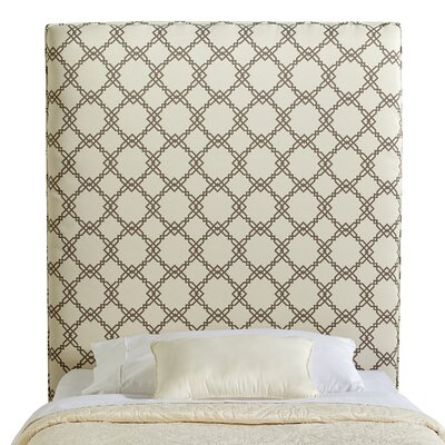 Rosalie Twin Upholstered Panel Headboard Upholstery: Ivory