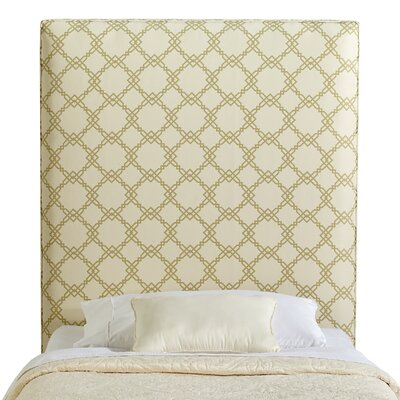 Rosalie Twin Upholstered Panel Headboard Upholstery: Light Green