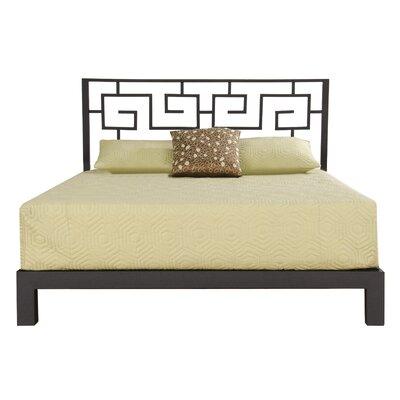 Binderveld Platform Bed Size: King, Upholstery: Black