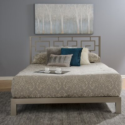 Binderveld Platform Bed Size: Full, Upholstery: Gray