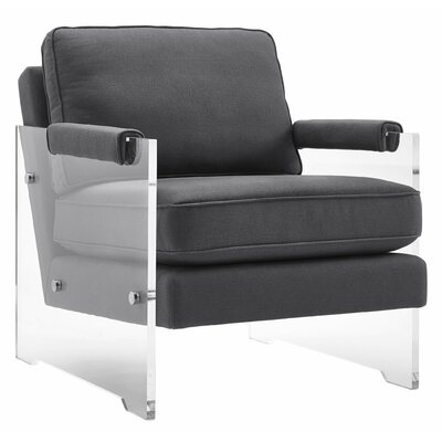 Dore Floating Lucite Arm Chair
