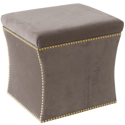 Maghull Storage Ottoman Color: Regal Smoke