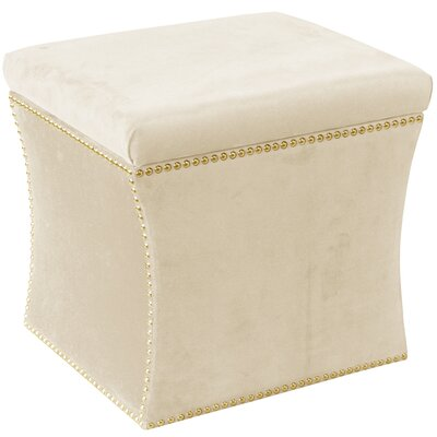Maghull Storage Ottoman Color: Regal Antique White
