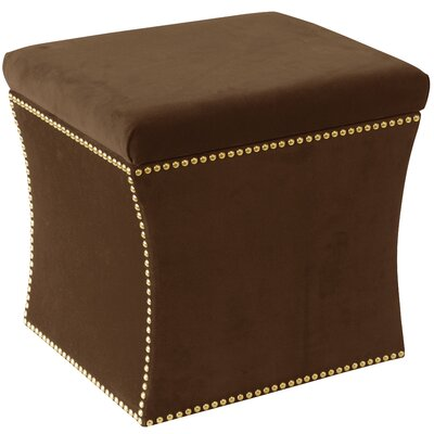 Maghull Storage Ottoman Color: Regal Chocolate