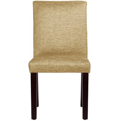 Maidstone Side Chair Color: Glitz Filbert