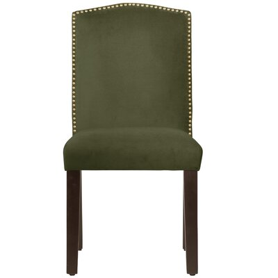 Gillenwater Side Chair Color: Regal Moss