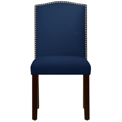 Maison Side Chair Color: Navy