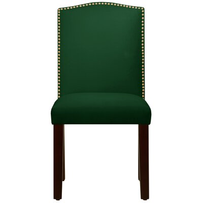 Maison Side Chair Color: Fauxmo Emerald