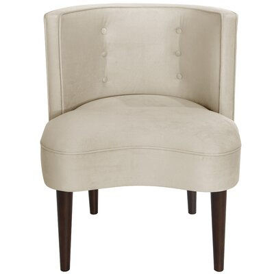 Malabar Barrel Chair Upholstery: Regal Antique White