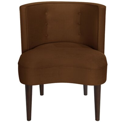 Malabar Barrel Chair Upholstery: Regal Chocolate