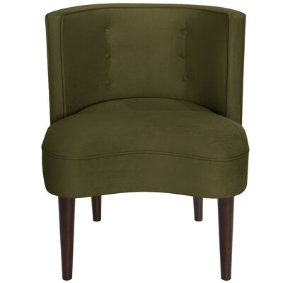 Malabar Barrel Chair Upholstery: Regal Moss
