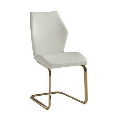 Schultz Side Chair (Set of 2) Finish: White