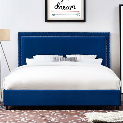 Bram Upholstered Platform Bed Size: King