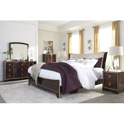 Bevis Panel Customizable Bedroom Set