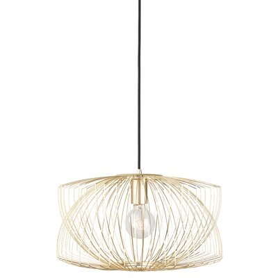 Ruggiero 1-Light Mini Pendant Lamp Color: Gold