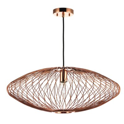 Rumfelt 1-Light Mini Pendant Lamp Color: Copper