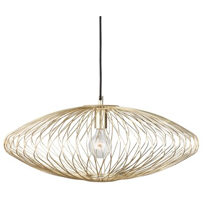 Rumfelt 1-Light Mini Pendant Lamp Color: Gold