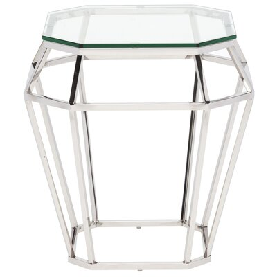 Doutzen End Table Color: Clear
