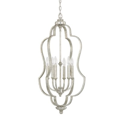 Erroll 6-Light Foyer Pendant