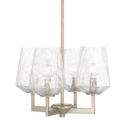 Whetsel 4-Light Candle-Style Chandelier