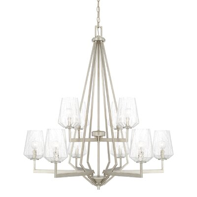 Whetsel 10-Light Candle-Style Chandelier