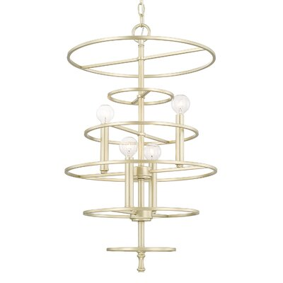 Servais 4-Light Foyer Pendant