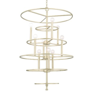 Servais 9-Light Foyer Pendant
