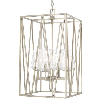 Whetsel 4-Light Foyer Pendant