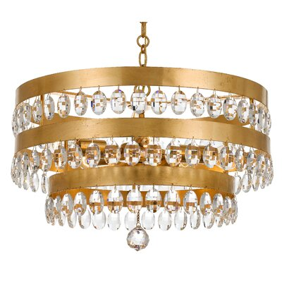 Opal 5-Light Crystal Chandelier