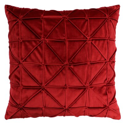 Romilly Throw Pillow Color: Red