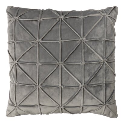 Romilly Throw Pillow Color: Gray