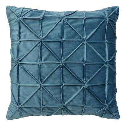 Romilly Throw Pillow Color: Slate Blue
