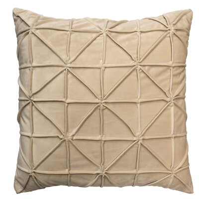 Romilly Throw Pillow Color: Beige
