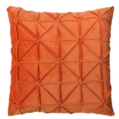 Romilly Throw Pillow Color: Rust