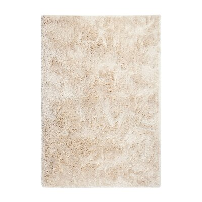 Gino Hand-Tufted Ivory Area Rug Rug Size: 8 x 10