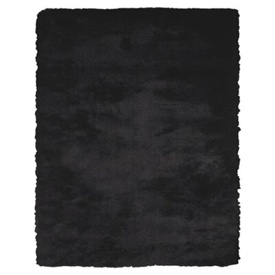 Kingsley Black Rug Rug Size: Runner 26 x 6