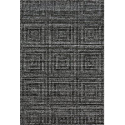 KingS Lynn Hand Woven Storm Area Rug Rug Size: Rectangle 86 x 116