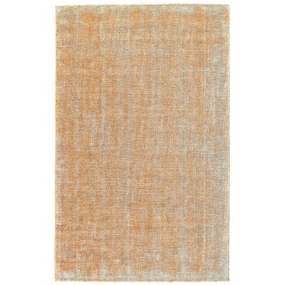 Kingston Hand-Loomed Mango Area Rug Rug Size: Rectangle 8 x 11